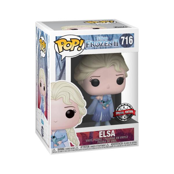 FUNKO POP Disney: Frozen 2 - Elsa con Salamandra