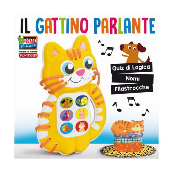 LISCIANI - MONTESSORI GATTINO PARLANTE
