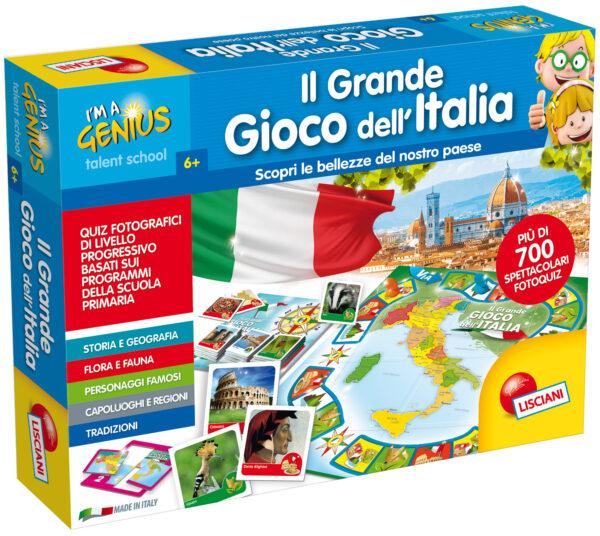 LISCIANI - I'M A GENIUS IL GRANDE GIOCO DELL'ITALIA I'M A GENIUS Unisex 3-5 Anni, 5-7 Anni, 5-8 Anni, 8-12 Anni ALTRI