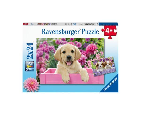 Ravensburger Puzzle 2x24 - Amici teneri
