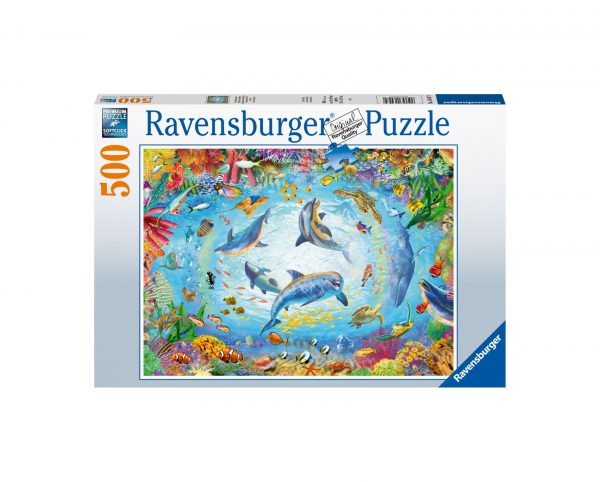 Ravensburger Puzzle 500 Pezzi - Immersioni fantastiche