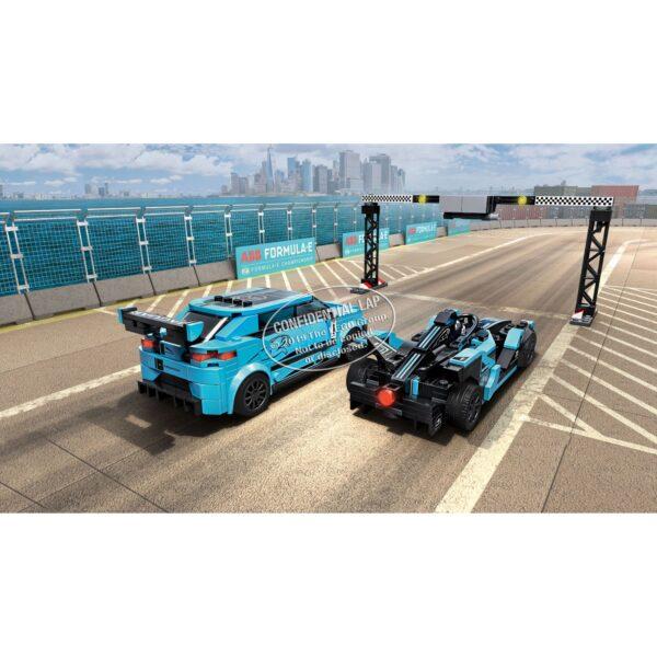 Speed   LEGO Speed Champions Formula E Panasonic Jaguar Racing GEN2 car & Jaguar I-PACE eTROPHY - 76898