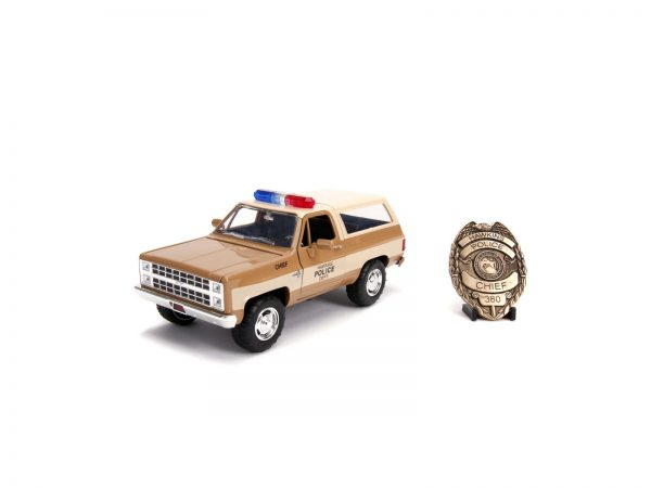 Stranger Things 1980 Chevy K5 Blazer 1:24 die cast
