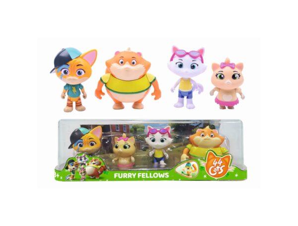44 Gatti Gift Pack 4 personaggi (Lampo, Polpetta, Milady, Pilou)