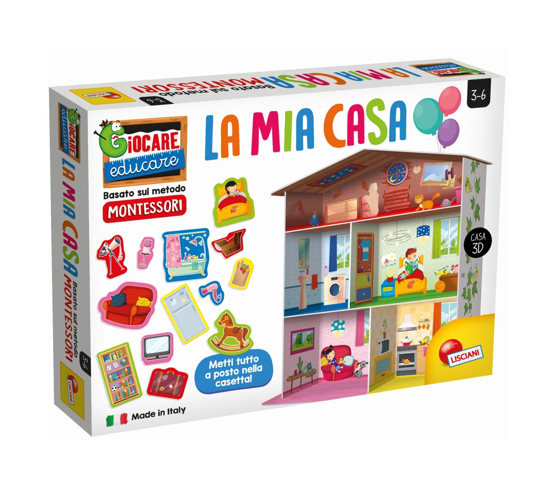 Tavolo Giardino Delle Parole Prezzo.Lisciani Montessori Maxi La Mia Casa Delle Parole Toys Center