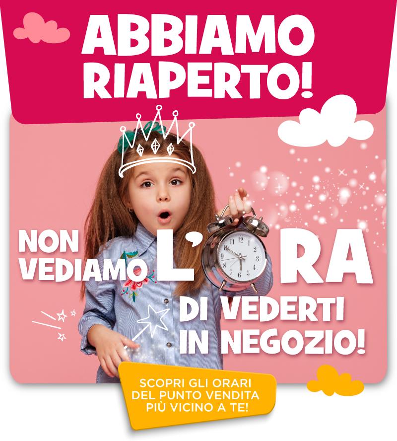 RIAPERTURA NEGOZI