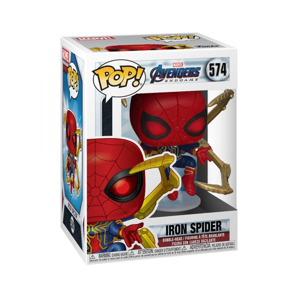 FUNKO POP Marvel: Endgame- Iron Spider con Guanto dell'Infinito