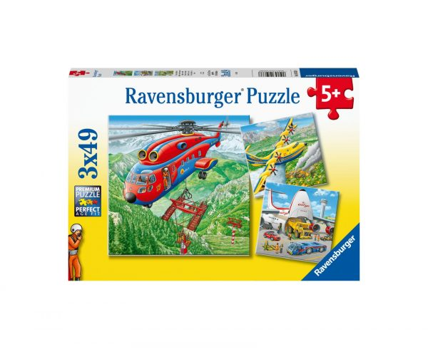 Ravensburger Puzzle 3x49 - Sopra le nuvole