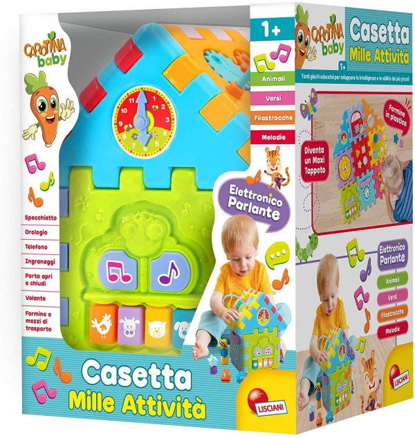 LISCIANI - CAROTINA BABY CASETTA MILLE ATTIVITA' EDUCATIVE