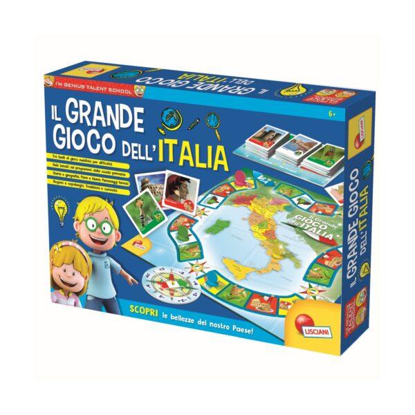 I'M A GENIUS ALTRI LISCIANI - I'M A GENIUS IL GRANDE GIOCO DELL'ITALIA Unisex 3-5 Anni, 5-7 Anni, 5-8 Anni, 8-12 Anni