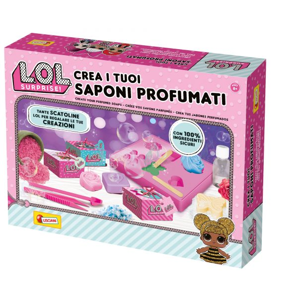 LISCIANI - LOL SURPRISE CREA I TUOI SAPONI PROFUMATI LOL SURPRISE
