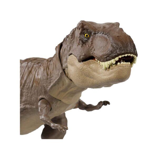 Jurassic World Dinosauro Tirannosauro Rex Morso Letale, Giocattolo per Bambini 3+ Anni Jurrasic World