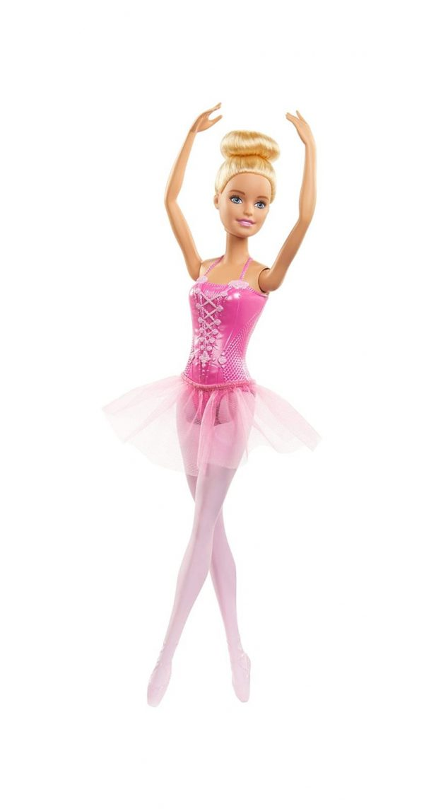 Barbie  Barbie Ballerina Bambola con Tutù e Scarpette