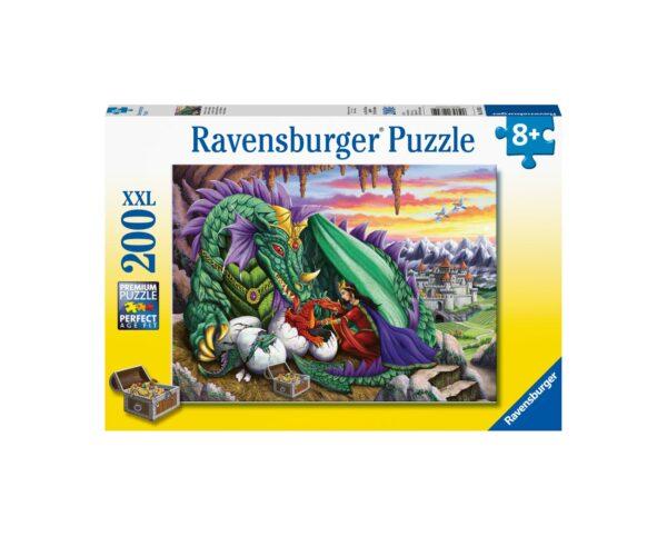 Ravensburger Puzzle 200 Pezzi XXL - La regina dei draghi