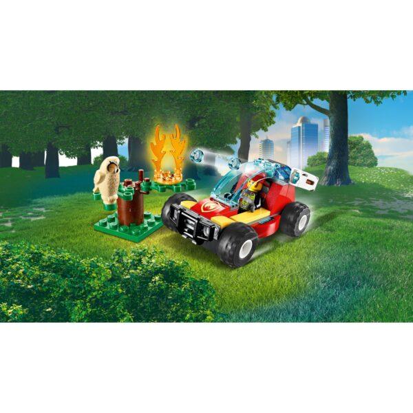 City  LEGO City Incendio nella foresta - 60247