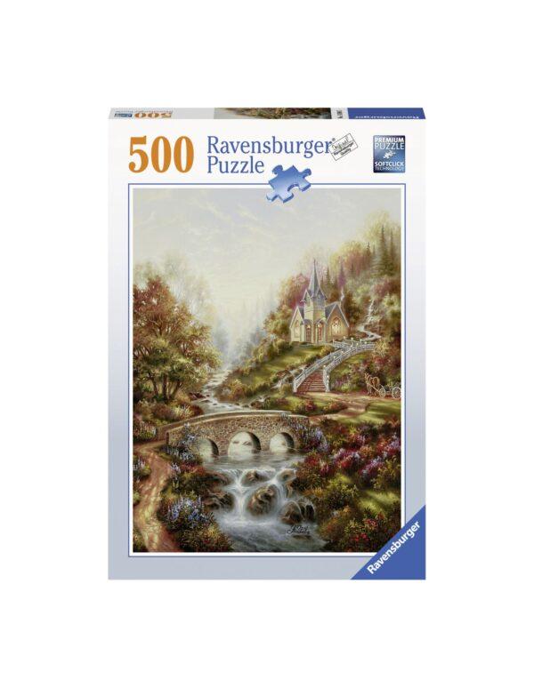 Ravensburger Puzzle 500 Pezzi - L'ora d'oro
