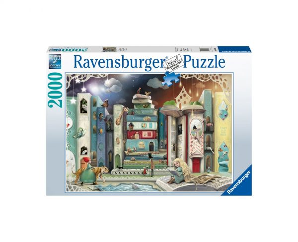 Ravensburger Puzzle 2000 Pezzi - La strada dei romanzi