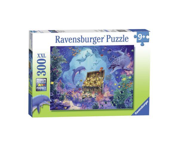 Ravensburger Puzzle 300 Pezzi XXL - Tesoro in fondo al mare