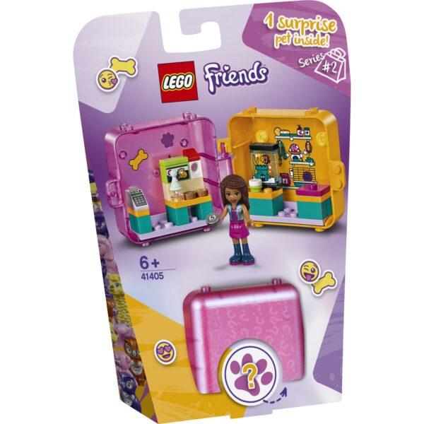 LEGO Friends Il Cubo dello shopping di Andrea - 41405 Friends