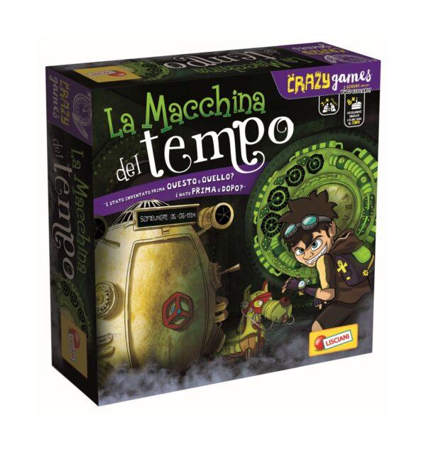 LISCIANI - CRAZY GAMES LA MACCHINA DEL TEMPO