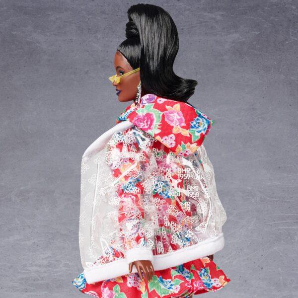 Barbie  Barbie BMR1959 Bambola Afroamericana Snodata con Vestito Floreale