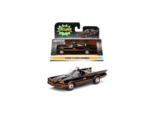 Batman 1966 Classic Batmobile 1:32 die-cast 15 cm