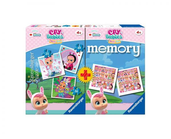 Ravensburger Multipack memory®+ 3 puzzle - Cry Babies