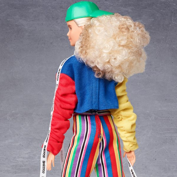 Barbie   Barbie BMR1959 Bambola Snodata con Capelli Biondi e Look Sportivo