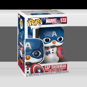 FUNKO POP Marvel: Holiday - Captain America