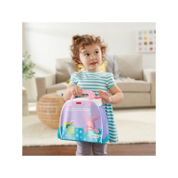Fisher-Price- Little People Babies Stanza dei Sogni con 2 Accessori, Giocattolo per Bambini 12+ Mesi    FISHER-PRICE