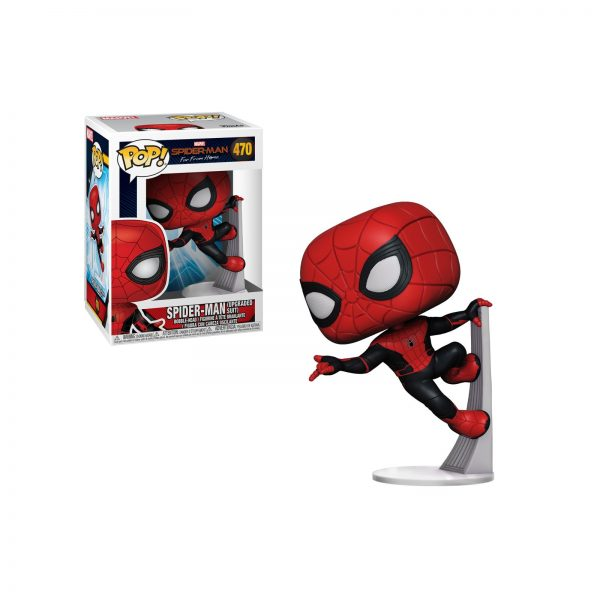FUNKO POP Marvel: Spider-Man Far From Home - Spider-Man (Tuta Nera)