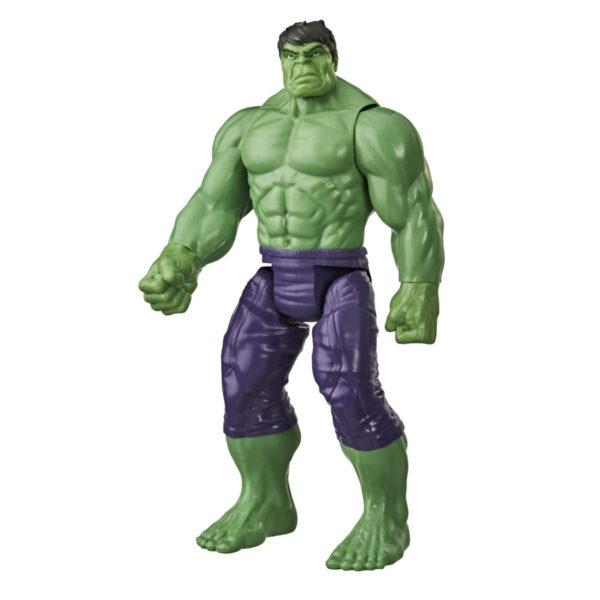 Avengers - Hulk (Action Figure Deluxe 30cm con Blaster Titan Hero Blast Gear)