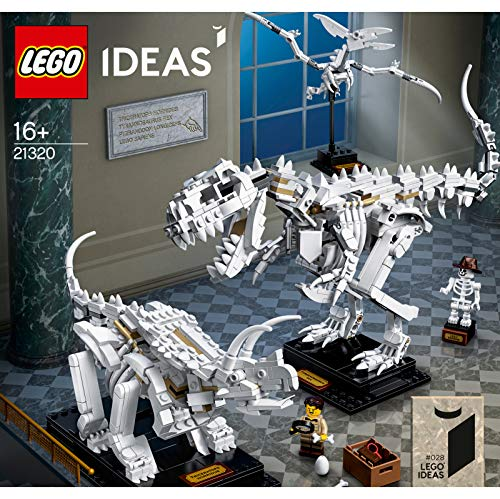 Ideas  LEGO Ideas Fossili di dinosauro - 21320