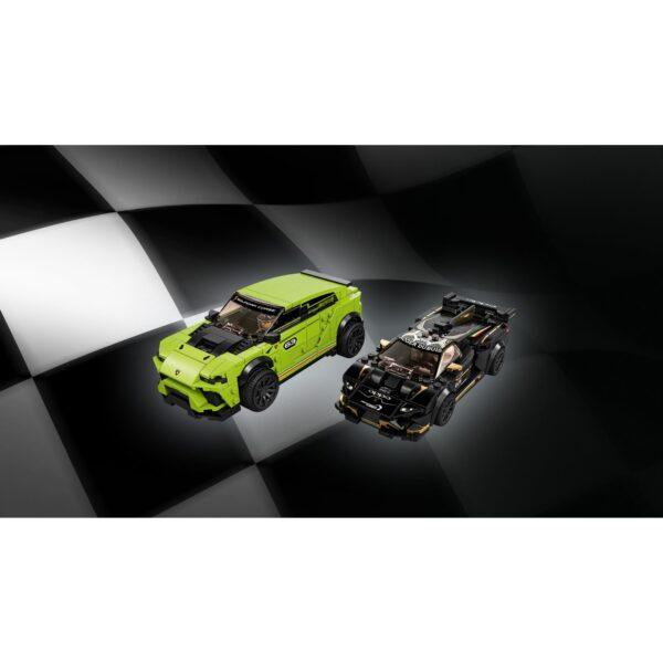 Speed  LEGO Speed Champions Lamborghini Urus ST-X & Lamborghini Huracain Super Trofeo EVO - 76899