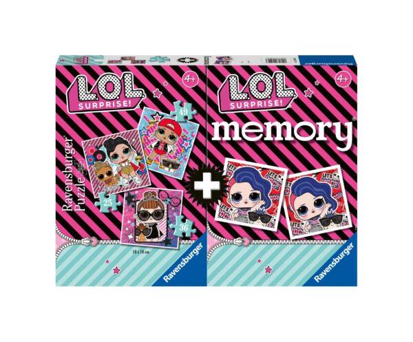 Ravensburger Multipack memory®+ 3 puzzle - LOL