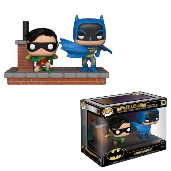FUNKO POP Comic Moment: Batman 80th - 1964 New Look Batman and Robin