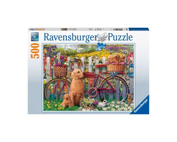 Ravensburger Puzzle 500 Pezzi - Simpatici cagnolini