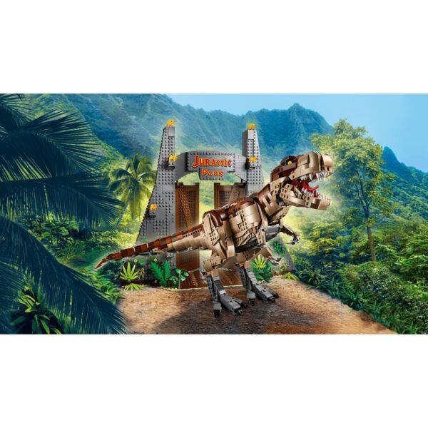 Jurassic World   LEGO Jurassic World Jurassic Park: la furia del T. rex - 75936