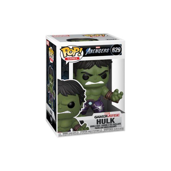 FUNKO POP Games: Avengers Endgame - Hulk (Tuta Stark Tech)