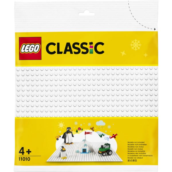LEGO Classic Base bianca - 11010 Classic