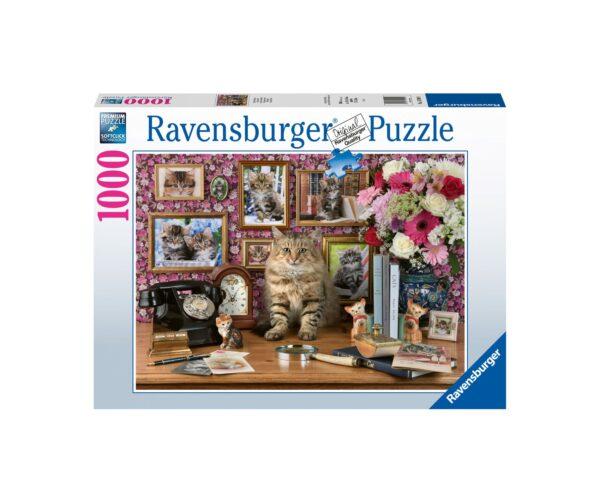 Ravensburger Puzzle 1000 Pezzi - Il mio piccolo gatto