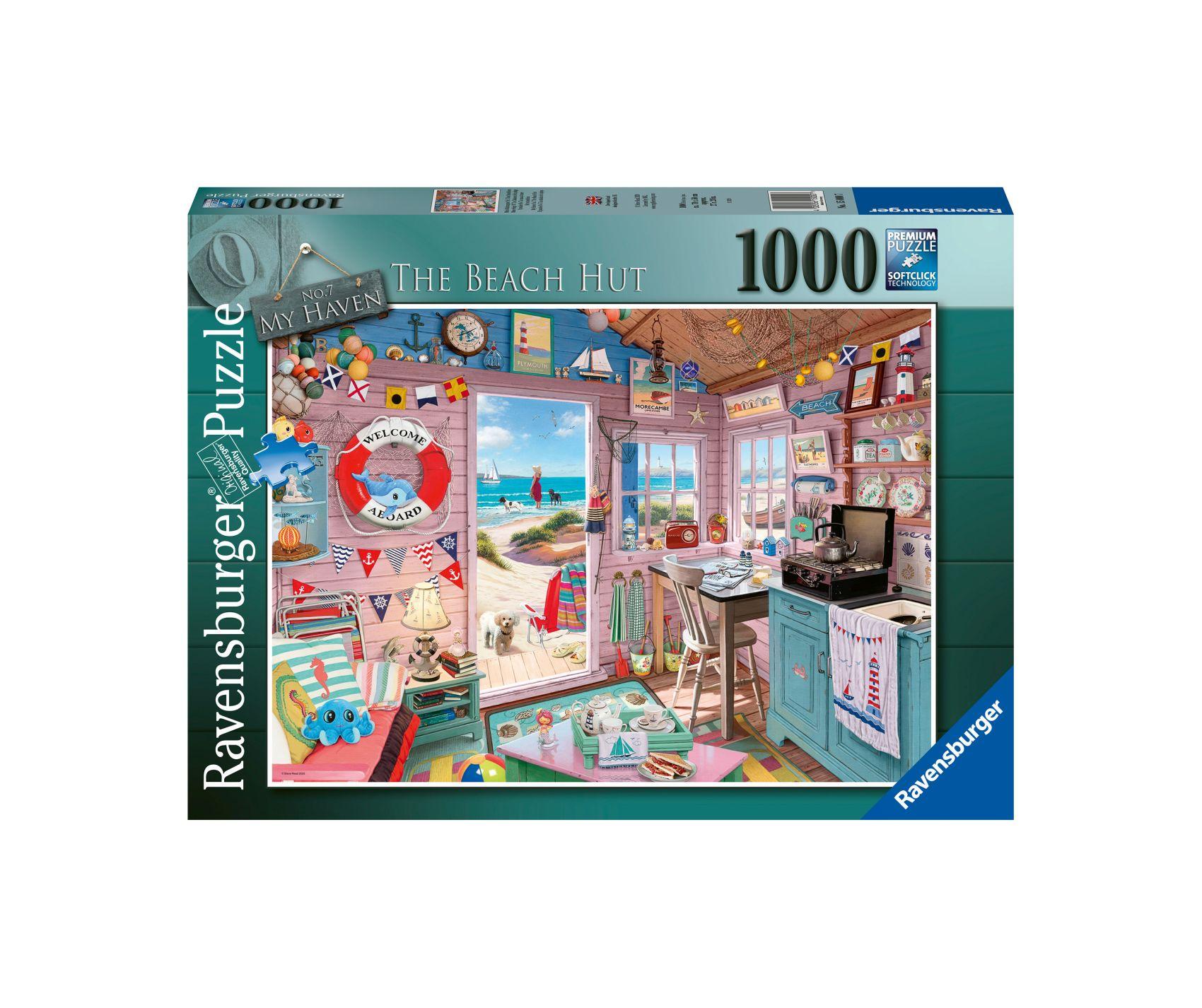 Ravensburger puzzle 1000 pezzi - la casa al mare -