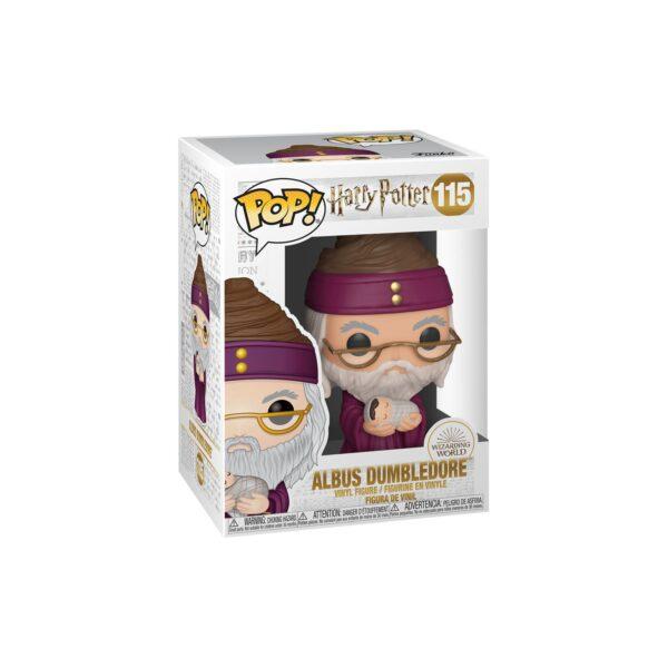 FUNKO POP HP: HP - Albus Dumbledore con Baby Harry