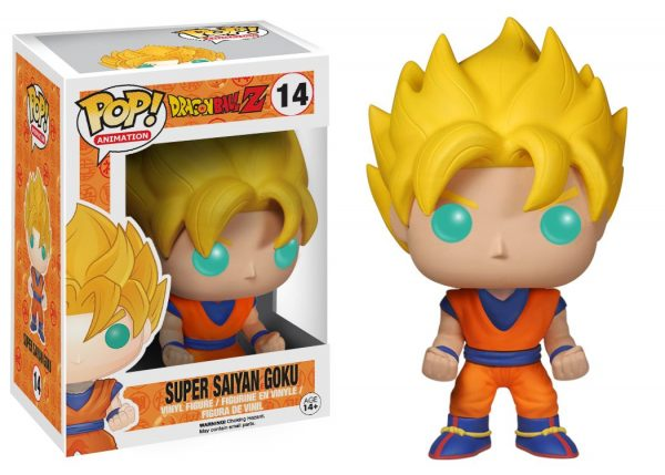 FUNKO POP Animation: Dragonball Z-  Goku Super Saiyan DRAGON BALL Unisex 12-36 Mesi, 12+ Anni, 3-5 Anni, 5-8 Anni, 8-12 Anni FUNKO POP!