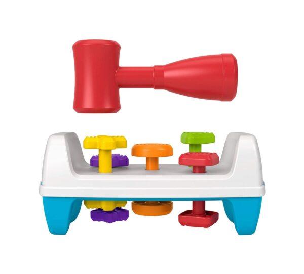 FISHER-PRICE  Fisher-Price - Banchetto da Lavoro Forme e Colori, Giocattolo per Bambini 12+ Mesi
