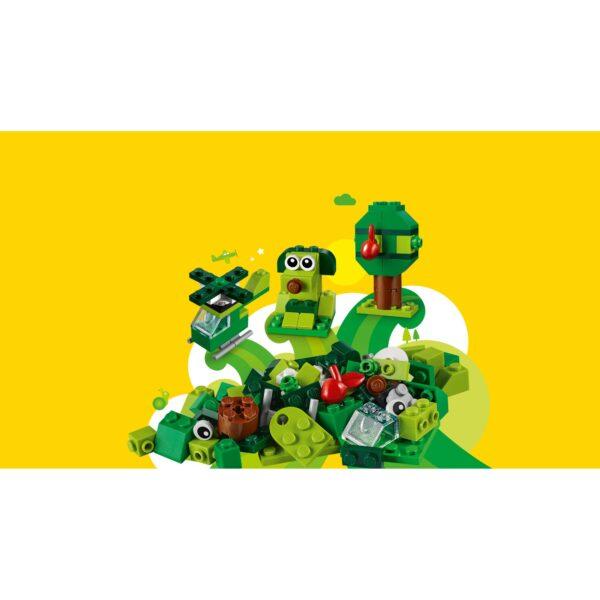 LEGO Classic Mattoncini verdi creativi - 11007    Classic