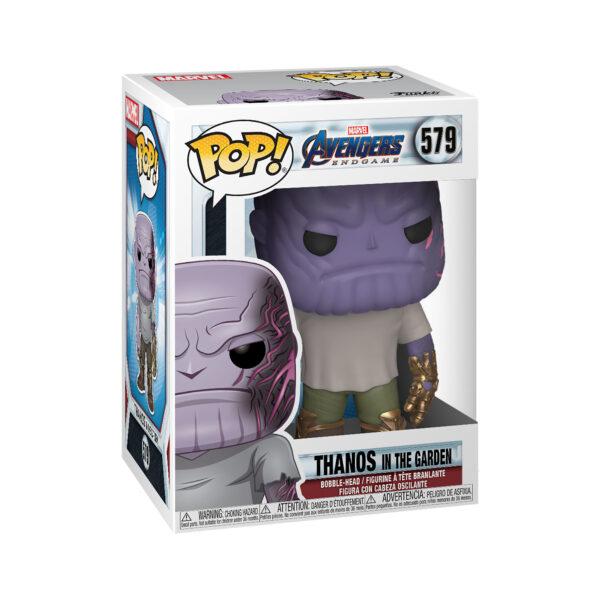 FUNKO POP Marvel: Endgame - Thanos in Giardino