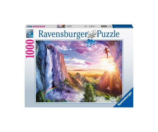 Ravensburger Puzzle 1000 Pezzi - La felicità dello scalatore
