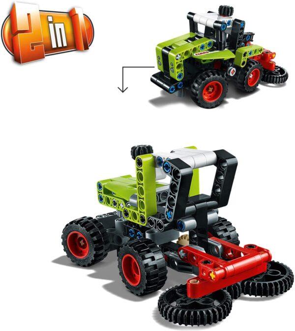 LEGO TECHNIC, TECHNIC  LEGO Technic Mini CLAAS XERION - 42102