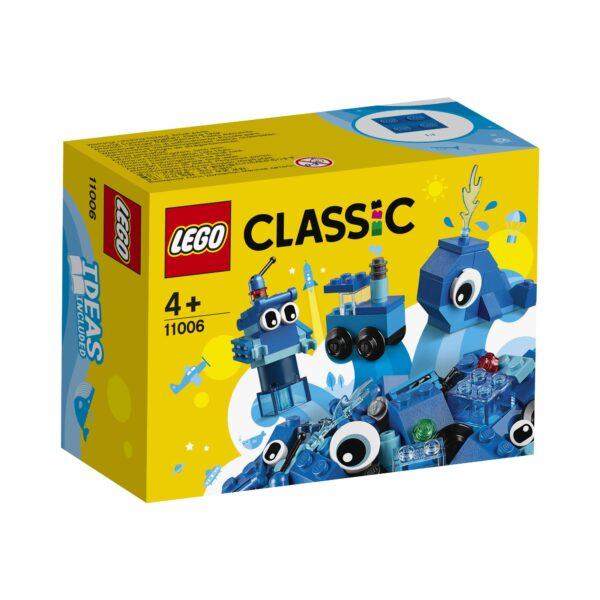 LEGO Classic Mattoncini blu creativi - 11006 Classic, LEGO CLASSIC